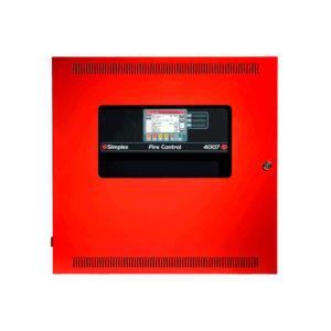 Panel de detección de incendios con iniciación y notificación direccionas