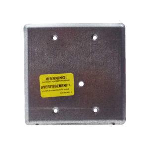 Placa de montaje para módulos , 4in, semi-empotrado