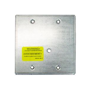 Placa de montaje para módulos, 4in, superficie