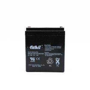 Batería recargable de plomo ácido sellada de 12 V y 4,0 Ah