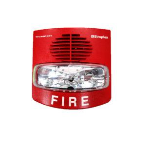 AV, WALL RED FIRE USA