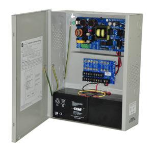 Cargador de fuente de alimentación, 8 salidas con fusible, 24 V CC a 10...