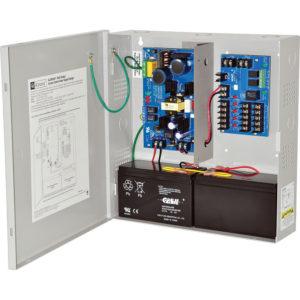 Módulo de distribución de energía con fuente de alimentación / cargador, 5 salidas PTC...