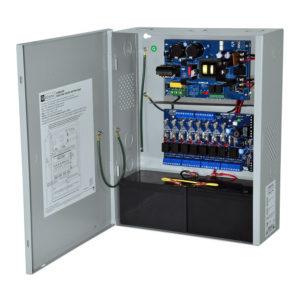 Controlador de alimentación de acceso con fuente de alimentación / cargador, 8 salidas de...
