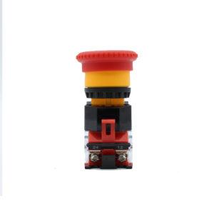 Botón de paro de emergencia / Salida de Emergencia en color Rojo