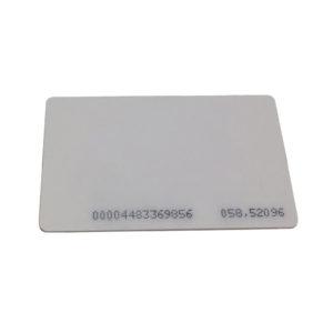 Tarjeta ISO, PVC / EM / Solo lectura / MOQ de 25 piezas