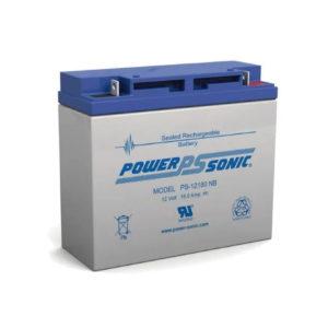 Batería de respaldo UL de 12Vcd, 18 AH. Paquetes de 2 baterías.
