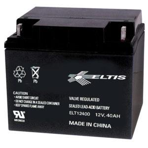 Batería recargable, ácido de plomo sellado SLA, 12VDC, 40AH