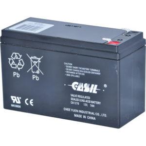 Batería recargable / ácido de plomo sellado SLA / 12VDC / 7AH