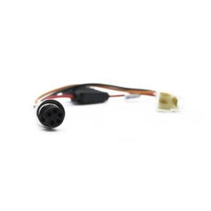 Cable de extensión para adaptador de fuente DVR Móvil, Uso taller//1500mm