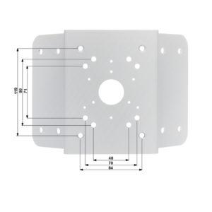 Montaje para esquinas compatible con camaras PTZ DAHUA y bullet IPCHFW5421EZ