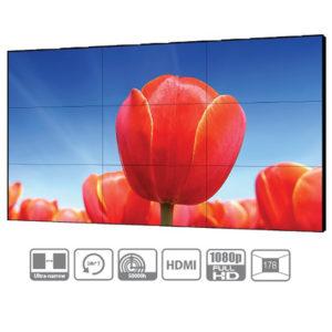Unidad de pantalla mural de video FHD de 55 pulgadas / bisel ultra estrecho...