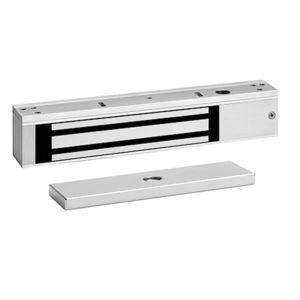 Cerradura electromagnética con LED y sensor de puerta/bloqueado / 600lb/272.2 kg fuerza de sujeción