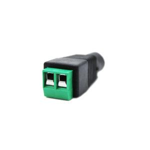 Conector de poder hembra para CCTV