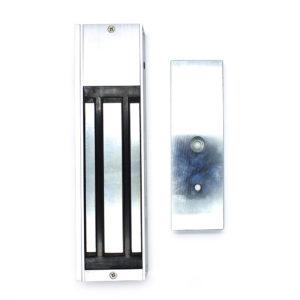 Electroimán de 600lb con LED indicador / 1 salida de relay / Alimentación 12VDCa500mA / 24VDC 250mA