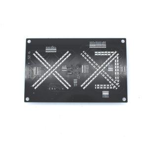 Panel de LED lateral para torniquete trípode