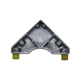 Placa triangular limitadora de posición