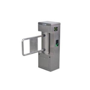 Barrera de control de acceso peatonal – 1 carril, soporta lectoras, IP32