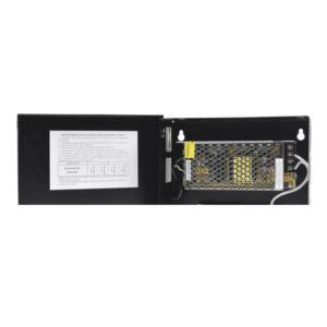 FTE P/CCTV 12 VDC REG 5AMP 4 SALIDAS 90-264VAC ENT