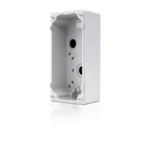 Adaptador de montaje en superficie para intercomunicador con video H4, 3.0C-H4VI-RO1-IR