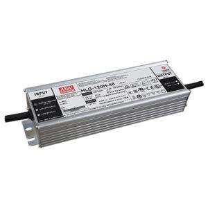 Fuente de poder, Entrada 90-305VAC, Salida 48VDC/120W, IP67, – 40 C 70 C