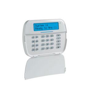 Teclado Cableado LCD Alfanumérico de 32 caracteres admite 128 zonas compatible con NEO