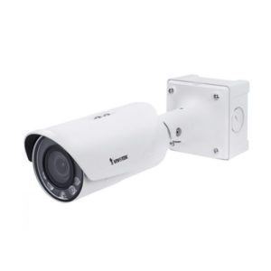 Outdoor Bullet, 2M 30fps, H.265/H.264/MJPEG, f2.8-12mm remote focus lens, P-Iris, D/N, IR 30m, SNV,
