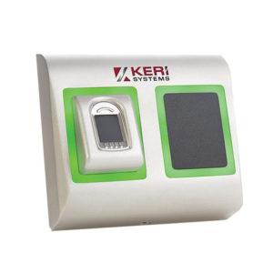 BioSync SC Lector de huellas dactilares para interiores / exteriores más Mifare Smart Card...