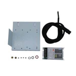 Fuente de alimentación, cables y tornillos impermeables