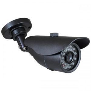 Cámara tipo bala para exterior, Sensor CMOS 1/3 / Procesador HDIS, 800 TVL, Lente fijo 3.6mm