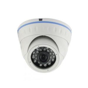 Cámara tipo domo, antivandálica, sensor 1/3 HDIS 960H, Resolución 800 TVL, Lente fijo 3.6 mm F2.0