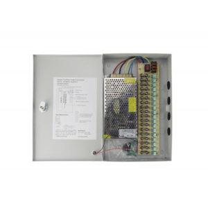 Fuente de Poder distribuida para CCTV 18 Salidas 12VDC/500mA