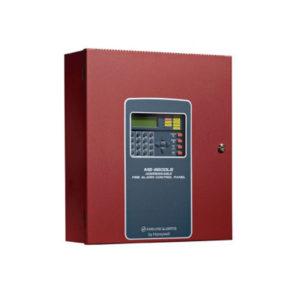 Panel de control de alarma de incendio direccionable de 318 puntos con comunicador