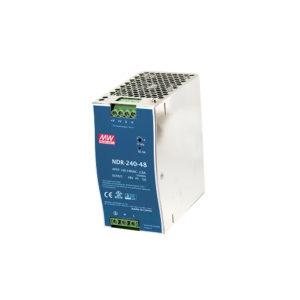 Fuente de poder, entrada 90-264VAC, Salida 48VDC/240W, – 20 C a 70 C