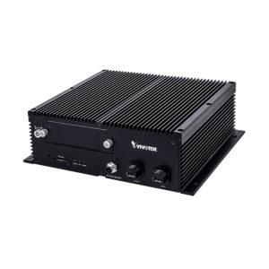 Grabador para vehiculos, 16 canales, H.265, 16 puertos PoE, 1 ranura de disco