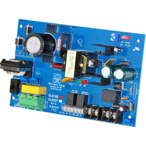 Cargador de fuente de alimentación / salida única, 12 / 24VDC a 4A, 115...