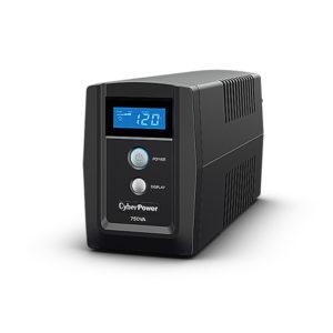 UPS 750VA con regulador de voltaje (AVR), LCD, 6 contactos, TEL/RED USB, No-Break
