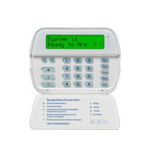 Teclado Cableado LCD Alfanumérico 32 caracteres admite 64 zonas compatible con panel Power Series