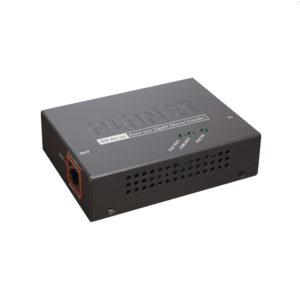Extensor 100m PoE 802.3at de 1 puerto 10/100/1000 Mbps