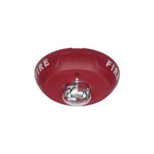 Lámpara Estroboscópica para Montaje en Techo, Color Rojo, Nivel de Candelas Seleccionable