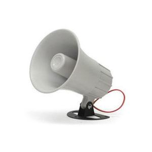 Sirena Cableada para Exterior 12 VCD 20W 2 tonos 110 dB