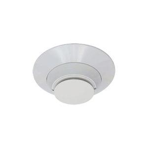 Detector Fotoeléctrico Direccionable de Humo para uso con Paneles Direccionables, color blanco