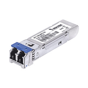 Módulo Gigabit Mini GBIC Industrial Mono modo 1312 nm 10 Km, Conector LC