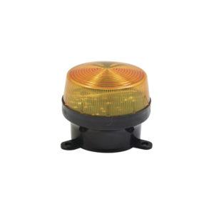LUZ ESTROBOSCOPICA LED COLOR AMBAR 12VCC/0.15A 90Hz/MIN INTERIOR