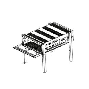 Chasis Metálico para montaje de tarjetas para System V