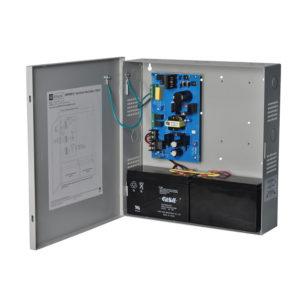 Cargador de fuente de alimentación, salida única, 12 / 24VDC a 4A, 115VAC, supervisión, caja BC300