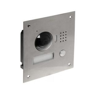 Videoportero IP con cámara de 1 MP / Visión Nocturna / Soporta hasta 5 Monitores / Apertura Remota