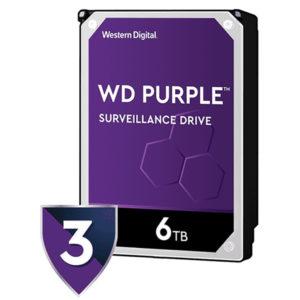 Disco duro Western Ddigital Purple surveillance 6tb Sata 3.5 WD60PURZ