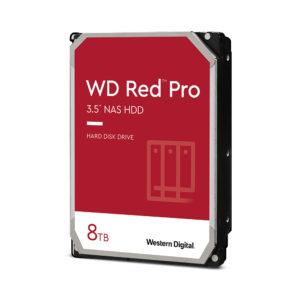 Disco duro WD 8 TB / 7200 RPM / Optimizado para NAS