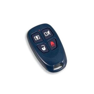 Llavero de 4 botones programables Inal?mbrico con frecuencia 433 Mhz compatibles con Power Series